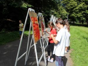 Galerii umění obsadili mladí výtvarníci, příměstský tábor se tu koná už 17. rokem