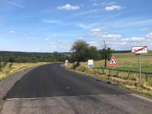 Třináct kilometrů silnice vyšlo na 130 milionů korun, platil IROP, kraj i stát