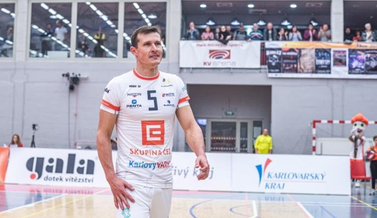 Tým VK Karlovarsko povede jako kapitán nahrávač Lukáš Ticháček