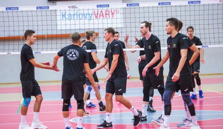 Volejbalisté Karlovarska vyhráli Velkou cenu porcelánu