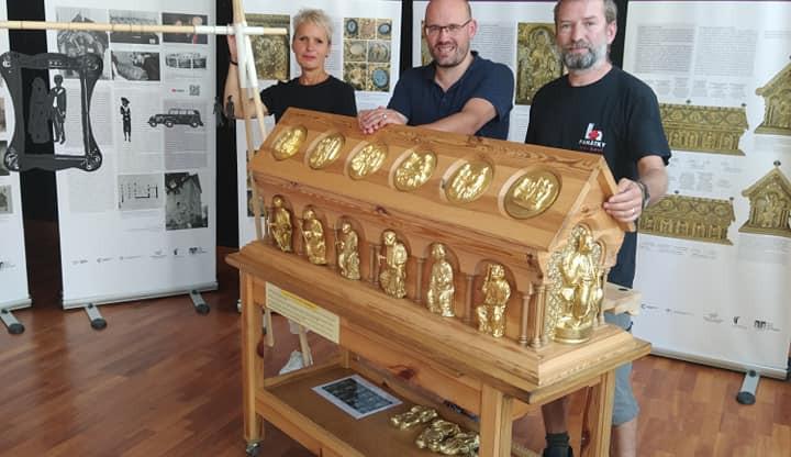 Výstava o bečovském relikviáři sv. Maura vyrazí do světa