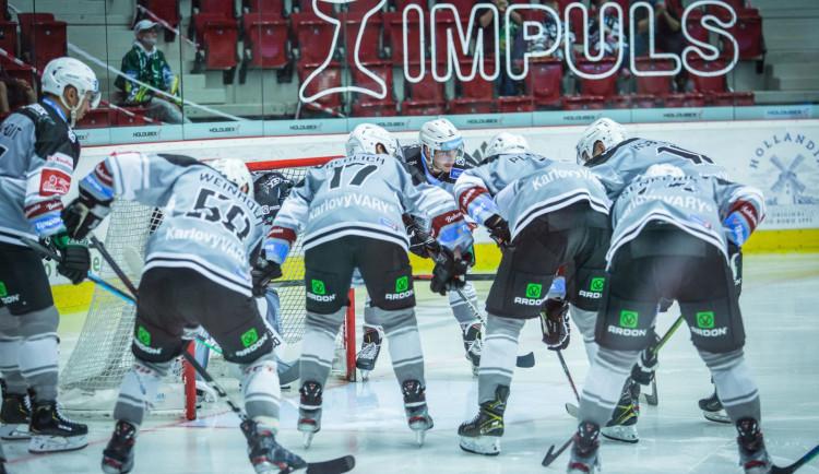 Hokejisté Kalových Varů chtějí opět minimálně do předkola