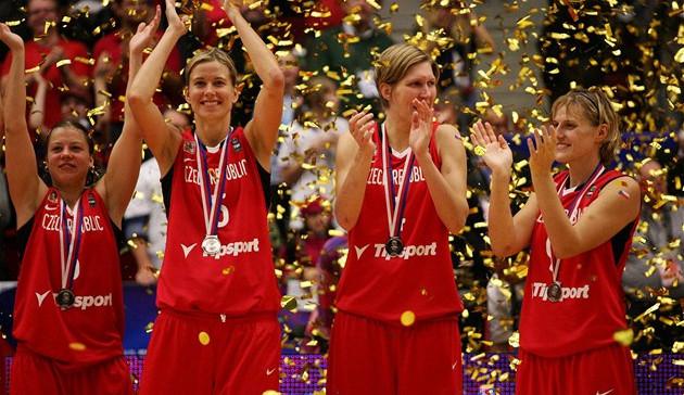 Před 10 lety získaly české basketbalistky na domácím MS stříbro