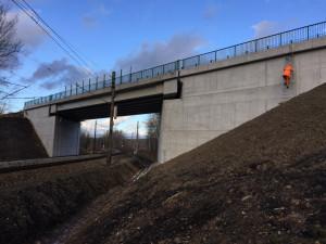 Zrekonstruovaný most u Nového Sedla se otevře do konce listopadu