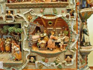 Restaurátorské práce na monumentálních kamnech stále pokračují