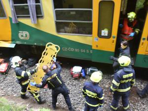 Za srážku vlaků u Perninku může podle Správy železnic strojvůdce