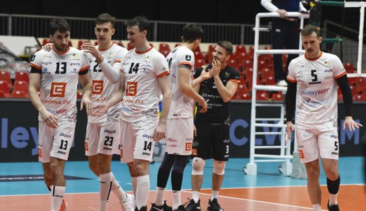 Volejbalisté VK Karlovarsko mají za sebou druhý turnaj Ligy mistrů
