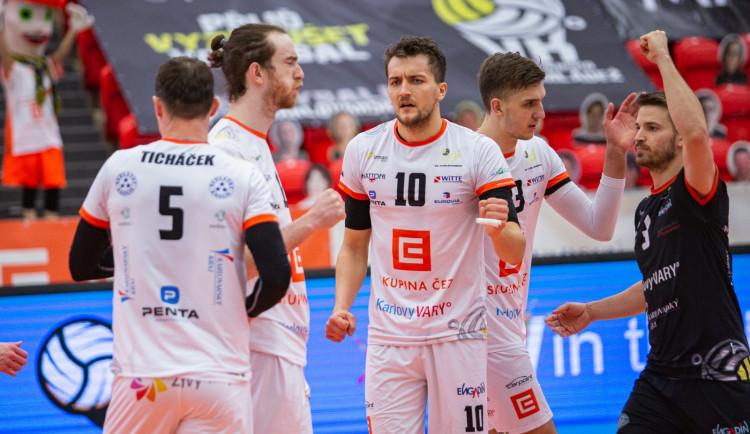 Volejbalová paráda, VK Karlovarsko si zahraje finále poháru proti Dukle Liberec