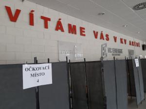 Očkování proti covid-19 se přesouvá do KV Arény, otvírá se první velkokapacitní centrum