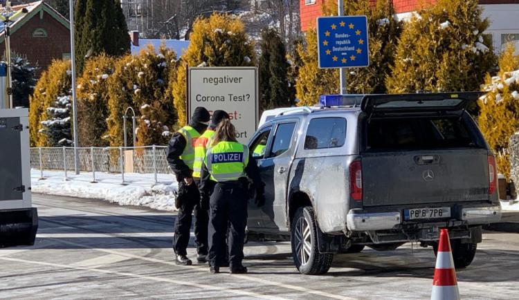 V noci na čtvrtek ukončí Německo stálé hraniční kontroly s Českou republikou