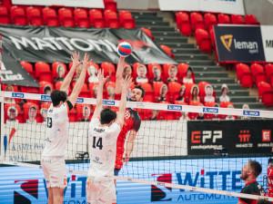 Volejbalisté Českých Budějovic porazili Karlovarsko, finále rozhodne pátý zápas