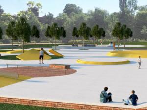V Chebu začne rekonstrukce atletického areálu a stavba nového skateparku