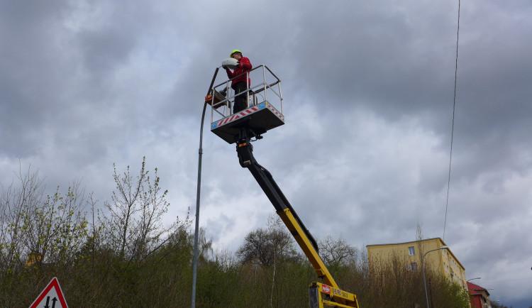 V Karlových Varech vymění zhruba tři sta starých svítidel za moderní LED světla