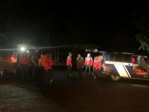 Zkušený tramp se opozdil za svou skupinou, pátrali po něm horští záchranáři i policie
