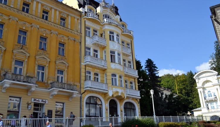 Lázeňský komplex Mercur v Mariánských Lázních se prodal v dražbě za 76 milionů korun