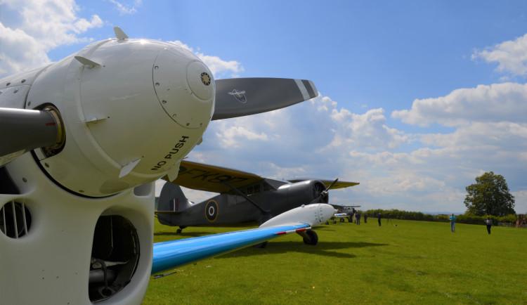 FOTO: V Letkově si připomněli výročí prvního veřejného letu